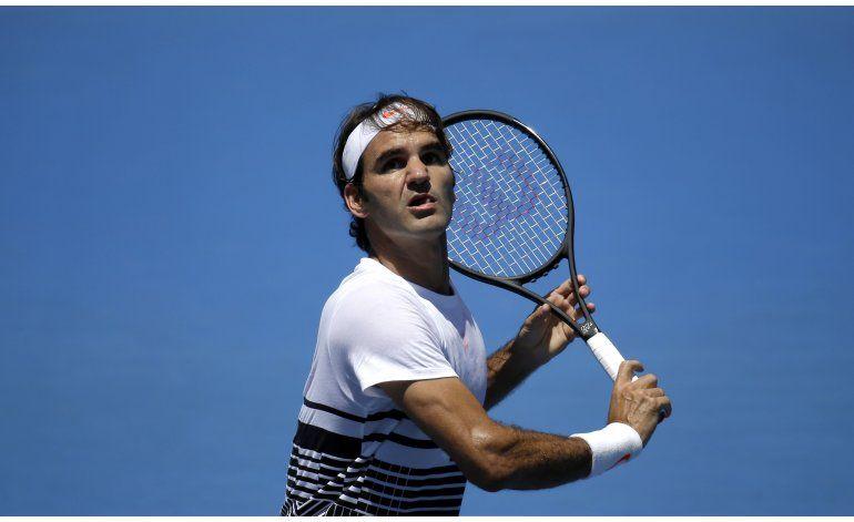 Federer, 17mo preclasificado en Australia tras caída en ATP