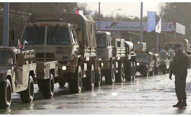 Tropas EEUU entran en Polonia, 1er despliegue junto a Rusia