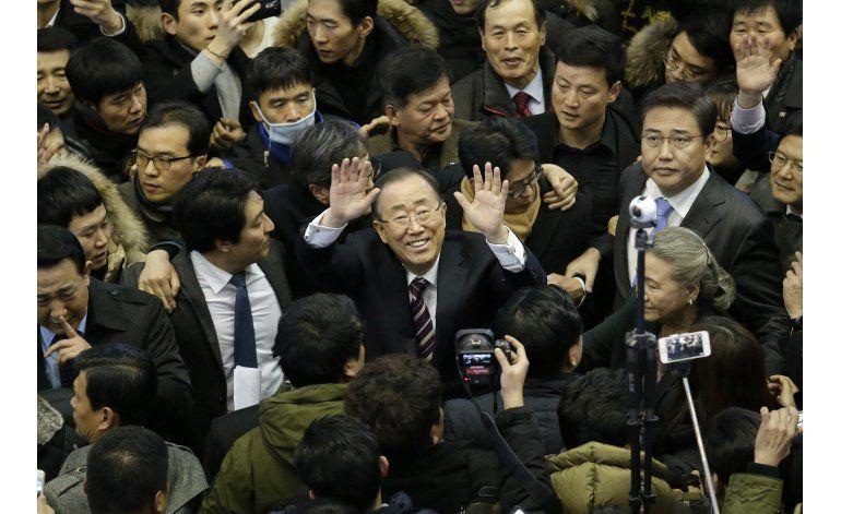 Corea del Sur: Ex jefe ONU insinúa candidatura presidencial