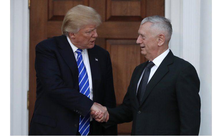 Mattis consigue apoyo para ser titular de Defensa