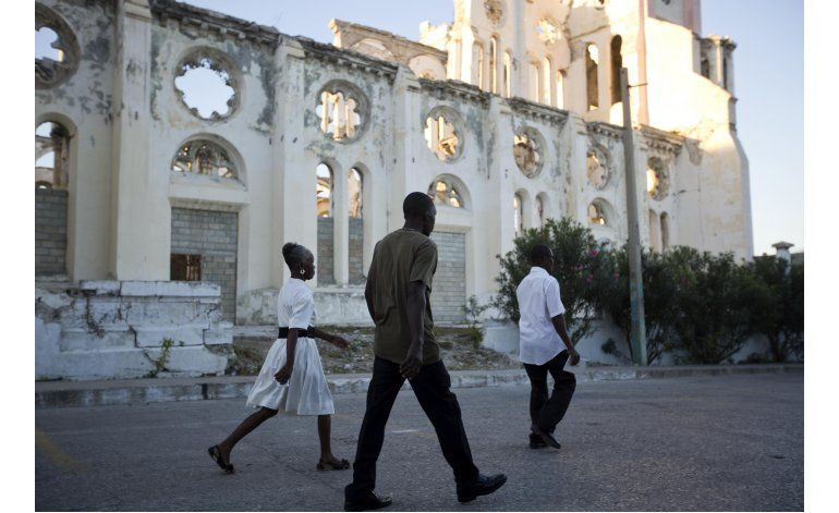 Haití recuerda a las víctimas del terremoto de hace 7 años