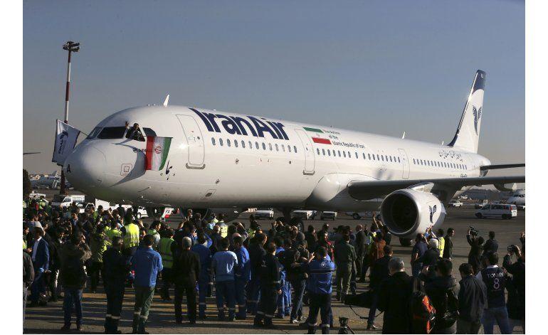 Llega a Irán el primer Airbus tras acuerdo nuclear
