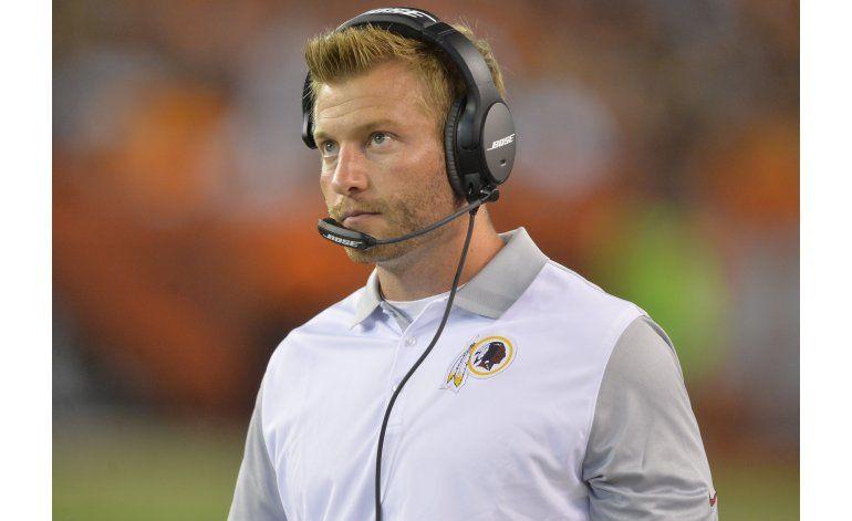 NFL: Rams tendrán al entrenador más joven en la historia