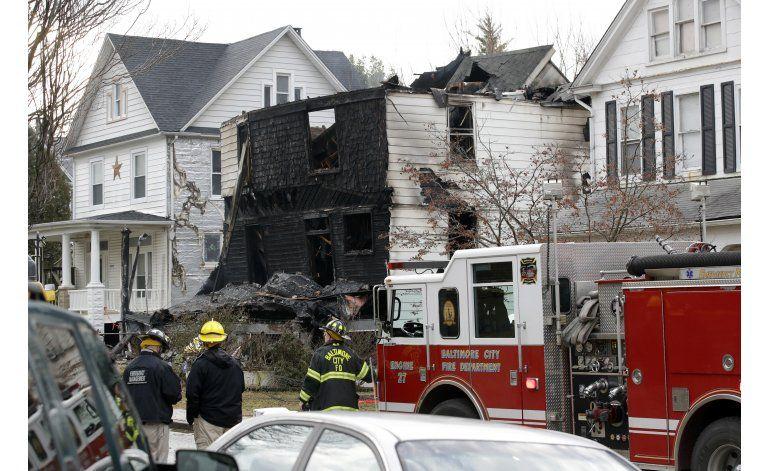 Mueren seis niños en incendio de una casa en Baltimore