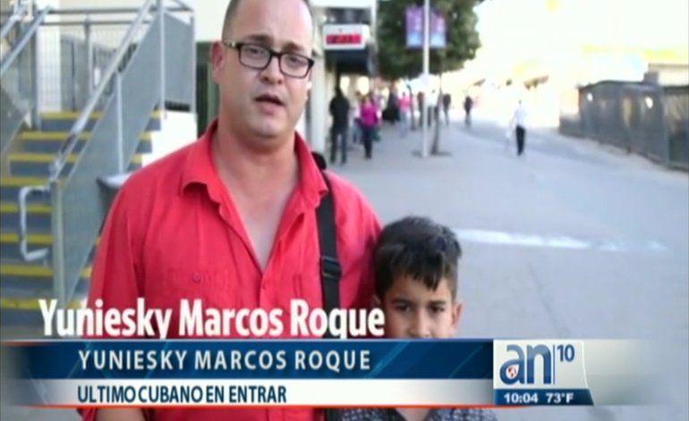 Testimonios de los últimos cubanos que entraron a EEUU por la frontera