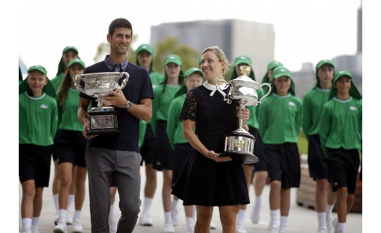 Australia: Djokovic abre contra Verdasco; Serena ante Bencic