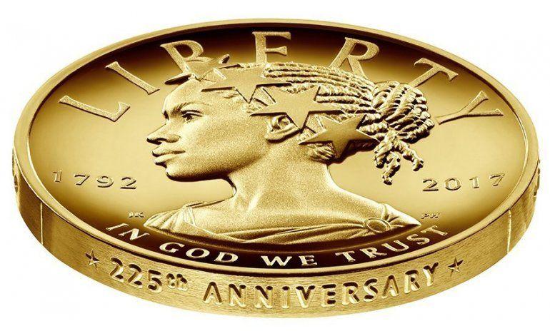Moneda conmemorativa de EEUU incluye imagen de mujer negra