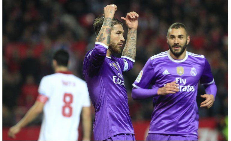 Liga española denuncia insultos contra  Ramos en Sevilla