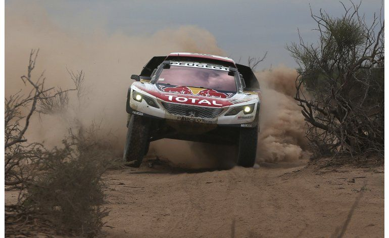 Dakar: Loeb gana 11ma etapa; Peterhansel cerca de coronarse