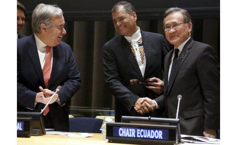 Ecuador asume presidencia del Grupo de los 77 en la ONU