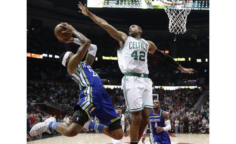 Horford vuelve a Atlanta y Celtics superan a Hawks
