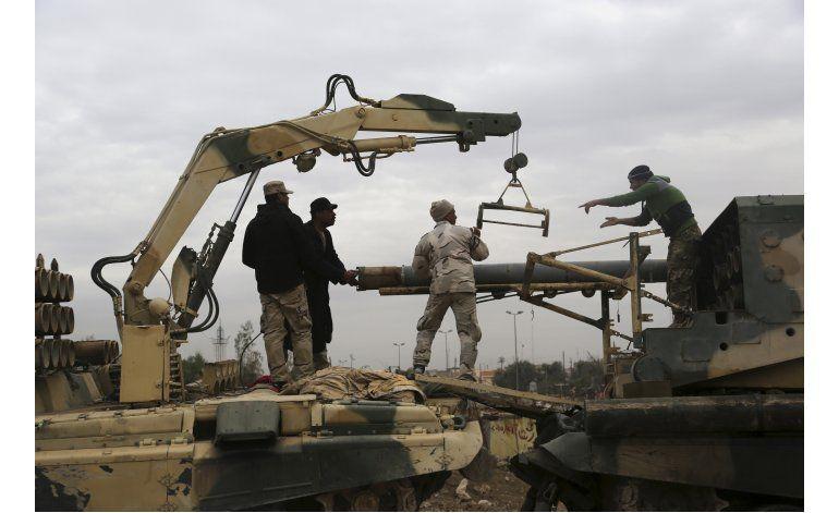 Fuerzas iraquíes avanzan en el campus universitario de Mosul