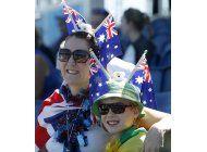 australia: regreso triunfal de federer; puig y murray ganan