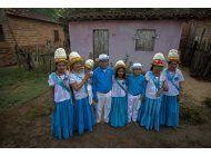 ap fotos: marujada combina tradiciones historicas en brasil