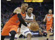 westbrook logra su 20mo triple-doble, thunder vence a kings