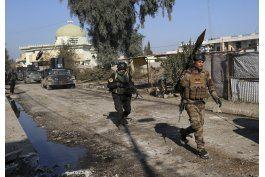ejercito iraqui se adentra en mosul, desplazando al ei