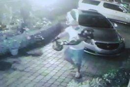 buscan a ladrones que robaron en una vivienda en westchester