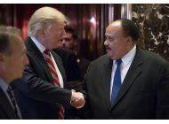 trump se reune con hijo de luther king