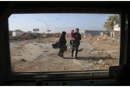 onu: lucha por mosul deja sin casa a mas de 148.000 personas
