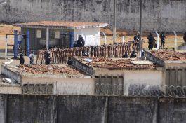 brasil intenta frenar violencia carcelaria tras 125 muertos