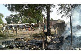 nigeria bombardea campo de refugiados; mas de 100 muertos