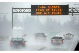 tormentas empapan california y dejan caminos resbaladizos