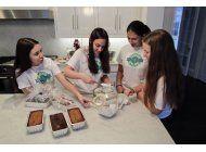 joven de origen uruguayo recauda miles de dolares para ninos