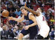 con 32 de dragic, el heat rompe buena racha de mavericks