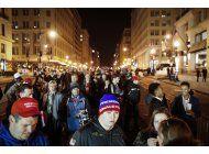 lo ultimo: balas de goma a manifestantes opuestos a trump