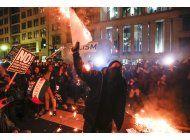 manifestaciones contra trump: racismo, trato a mujeres, etc.