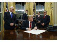 casa blanca: investidura de trump tuvo la mayor asistencia