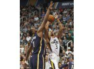 hill anota 30 contra su equipo anterior; jazz vence a pacers