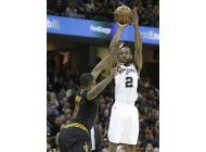 leonard brilla con 41; spurs vencen a cavs en prorroga