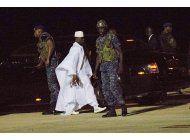 gambia espera nuevo lider; antecesor exiliado podra regresar