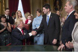 republicanos en congreso reciben a trump con cierta cautela