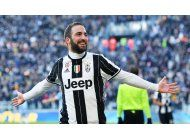 juventus vence 2-0 a lazio con goles de dybala e higuain