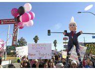 ante protestas, trump tiene reacciones contradictorias