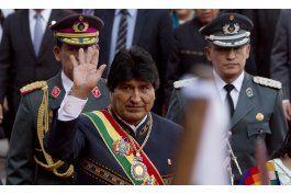 morales celebra 11 anos de gobierno y busca la reeleccion