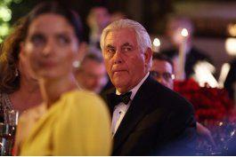 rex tillerson duda sobre el pacto de paz de colombia