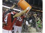 falcons apabullan a packers y estan en el super bowl