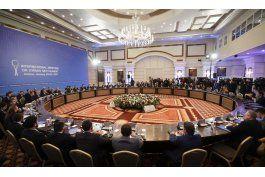 arranca dialogo entre rebeldes y damasco en kazajistan