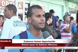 continuan llegando cubanos a nuevo laredo,mexico
