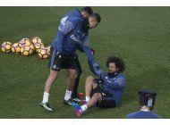 real madrid pierde por lesiones a marcelo y modric