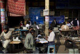 le llega finalmente la hora a maquinas de escribir en india