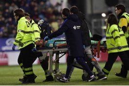 sergio busquets es baja en barcelona por lesion de tobillo