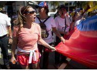 oposicion de venezuela marcha para presionar por elecciones