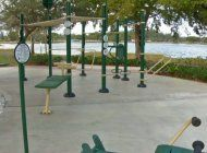 residentes de hialeah ya tienen una nueva area para hacer ejercicio al aire libre