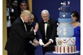 un pastel para trump fue igual al de obama