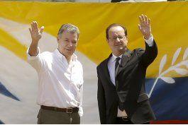 presidente frances se reune con jefes de las farc