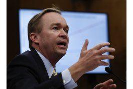 mulvaney propone recorte a programas de prestacion social